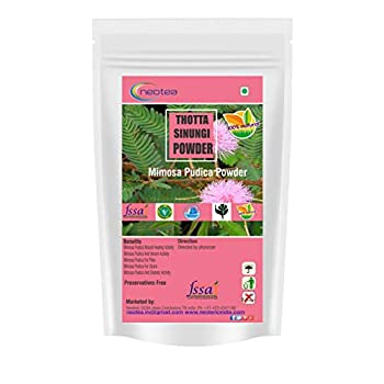 Neotea Sensitive Plant | Thotta Chinnugi | Mimosa Pudica | Touch Me Not Plant Powder - 300gm