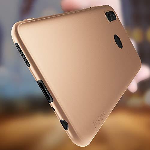 X-level für Honor 10 Lite Hülle, [Guardian Serie] Soft Flex Silikon Premium TPU Echtes Telefongefühl Handyhülle Schutzhülle Kompatibel mit Honor 10 Lite Case Cover - Gold - 3
