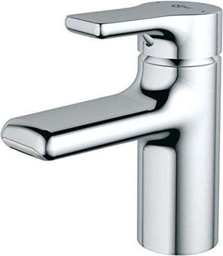 Ideal Standard A4754AA Waschtisch Armatur Attitude Piccolo, chrom Wasserfall Strahlregler
