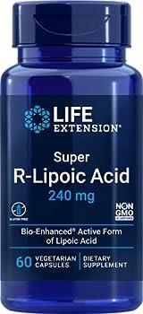 Life Extension Super R-Lipoic Acid 240mg 60-Count