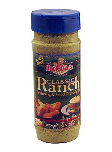 Uncle Dan's Classic Ranch Seasoning and Salad Dressing Shaker Bottle