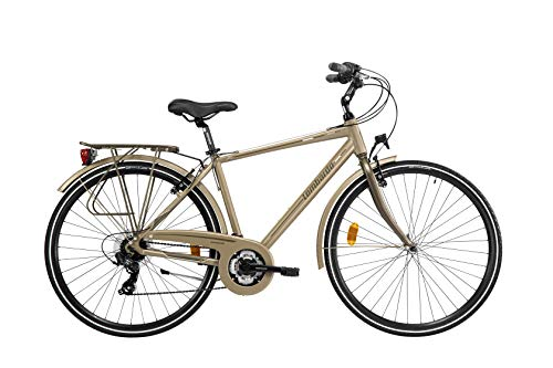Lombardo City Bike 28' Mirafiori 270 U 21V BrownTanMatt (53)