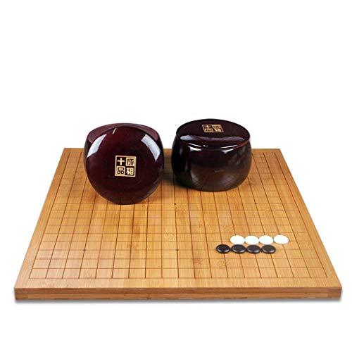 Go Game, Chinesisches Brettspiel Family Puzzlespiel Größe 18,5 '' * 17,3 ''