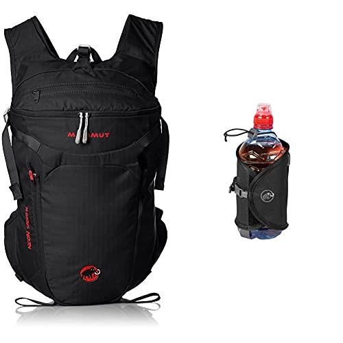 Mammut Uni Rucksack Neon Speed, schwarz, 15 L & Unisex Add-on Bottle Holder Flaschenhalter, black,Einheitsgröße EU
