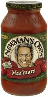 Newman's Own Pasta Sauce Marinara, 24-Ounce (Pack of 6)