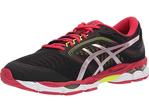 ASICS Men's Gel-Ziruss 3 Running Shoes, 12M, Black/Speed RED