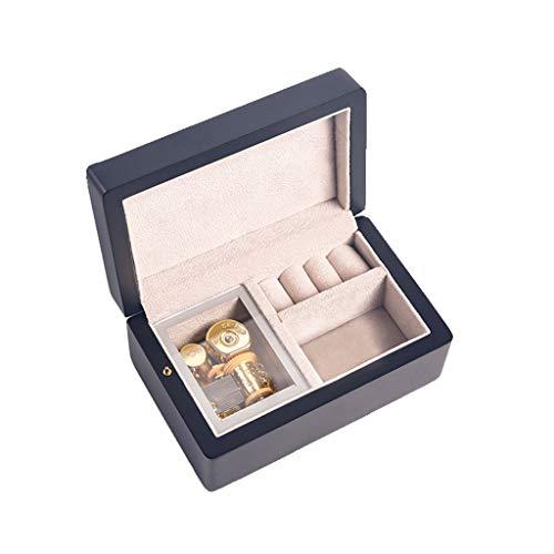 WGH Regalos Caja de música Caja de música guardián Harry Potter Caja de música Personalizable Foto joyería Musical Caja de cumpleaños Navidad Regalo de día de San valentín