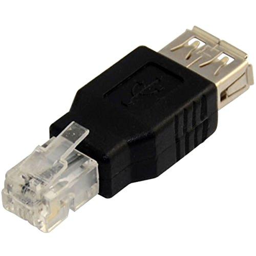 SWUK USB 2.0 A Adaptador de Cable de Teléfono Enchufe Hembra Conector RJ11