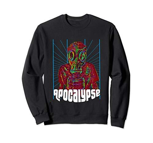 EDM Techno Gas Mask Design Dance Rave Music Festival Sweatshirt