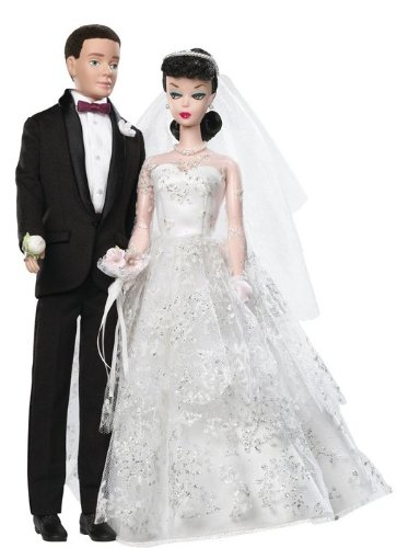 Barbie Collector 50th Anniversary Dolls - Wedding Day Barbie and Ken Giftset (japan import)
