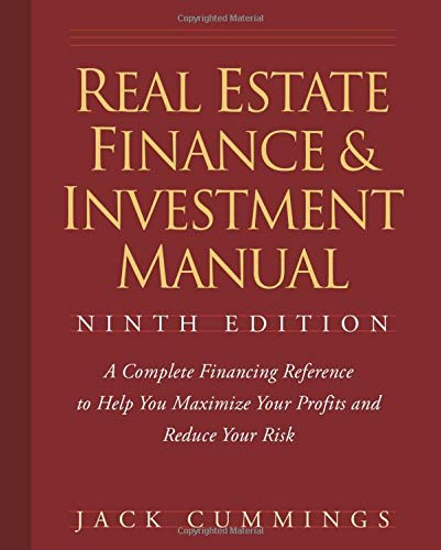 Real Estate Investing Books! - Real Estate Finance and Investment Manual, 9 edition