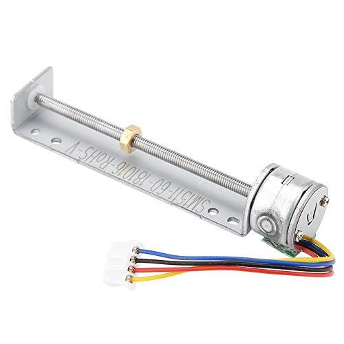 Micro Motor Paso A Tornillo - Impresora De Inyección Tinta Sm1511 Deslizante Lineal 5 V 2 Fases 4 Cables Actuador Varilla Empuje