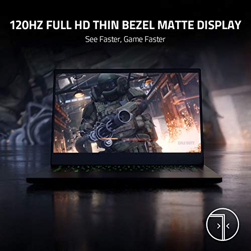 13-inch Razer Blade Stealth Ultrabook 120Hz FHD Gaming Laptop: 4-core i1065G7, NVDIA GeForce GTX 1650