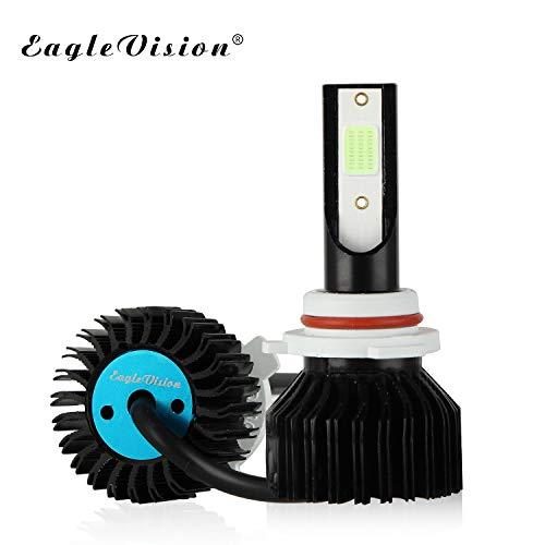 Autokoplampen EV12 ijsblauw 9005, 9006, H1, H4, H7, H11 koplampen/mistlampen eenvoudig Plug and Play (kleur: 9005)