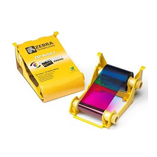 Zebra Farbband für ZXP3, YMCKO, für bis zu 280 Plastikkarten, ausschließlich passend für Z3X-XXXXX200EM00 (800033-340)