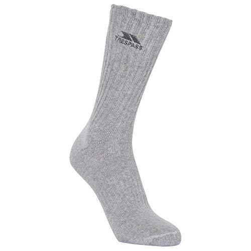 Trespass Damen 5045274601947 Mittellange Socken, Mehrfarbig, Einheitsgröße, Multicolor