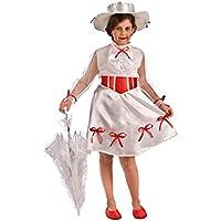 El Rey del Carnaval Disfraz de Niñera Mágica para niña