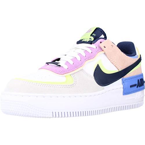 Nike Air Force 1 Shadow, Zapatillas Deportivas Mujer, Photon Dust Royal Pulse Barely Volt, 40.5 EU