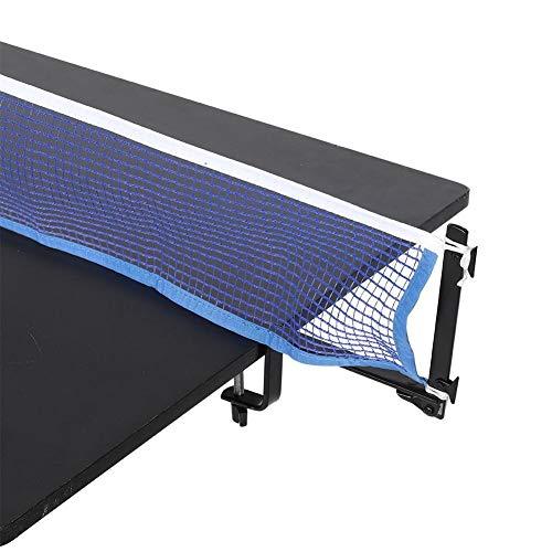 Starbun Ping Pong-portátil Mesa de Ping Pong Red con Abrazadera del Metal Mensajes de Ping-Pong Set de Accesorios