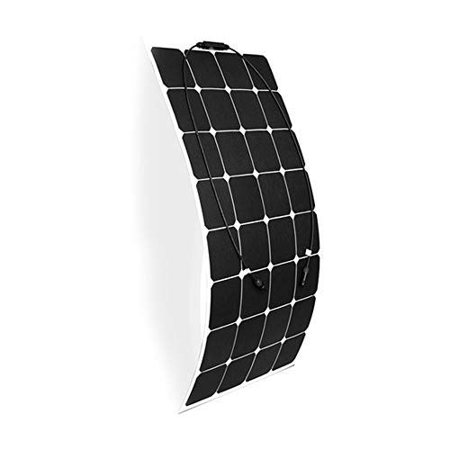 ZJY 17,6 V 100 W Flexibles Solarpanel, 24,2{b941c0566f308b996526bb470cbf25cde65e40ae044bea1c8dac5c96df2c4368} hohe Umwandlungsrate, ETFE-Oberfläche, biegsame, ultradünne, wasserdichte Schutzart IP65 Geeignet für unebene RV-Campingfähre