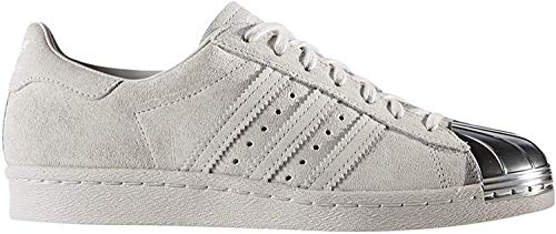adidas Damen Superstar 80S Metal Toe W Fitnessschuhe, Grau, 39 1/3 EU