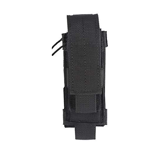 OneTigris Taktische MOLLE Werkzeugtasche Gürtelholster für Klappmesser/Pistolen Magazintasche (Schwarz)