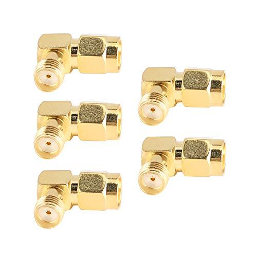 Conector Coaxial, Adaptador De Acoplamiento Roscado Convertidor Para Conexión De Audio, Video Y Otros Equipos De Prueba De Radio Bidireccional