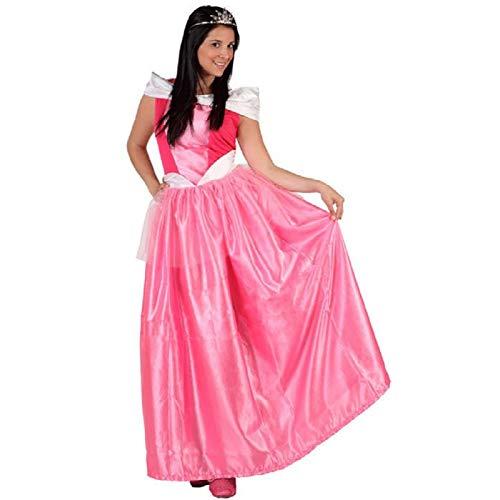 ATOSA disfraz princesa de cuento rosa mujer adulto M