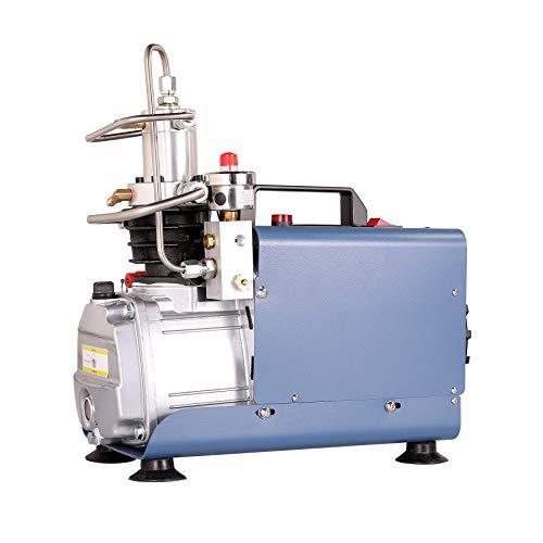 Orion Motor Tech 1800W 30MPA Automatisch Luftkompressor-Pumpe 4500PSI Hochdruckluftpumpe Kompressorpumpe Stopp Kompressor Hochdruck PCP Inflator für die Aufblasflasche