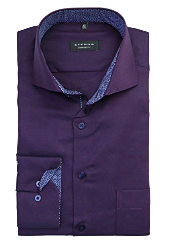 eterna Hemd Comfort Fit extra Langer Arm 72 cm, Kragenweite/Größe:42