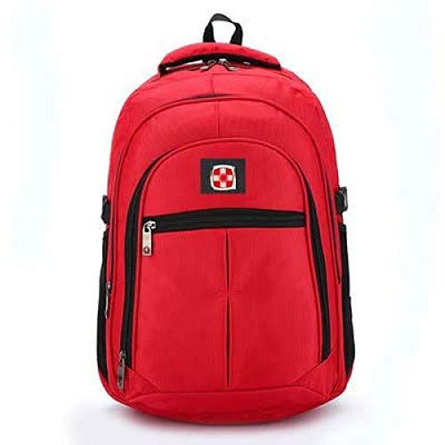 LHLHM Sac À Dos Sac À Dos pour Hommes College Student Business Computer Bag High School Student Bag Grande Capacité Travel Backpack