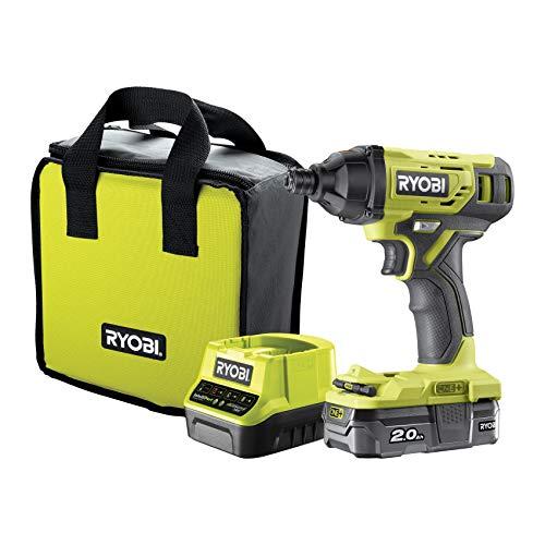 Ryobi 0 R18ID2-120SZ 18V ONE+ Cordless Impact Driver Starter Kit (1 x 2.0Ah)