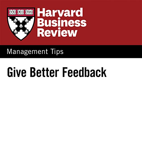 Give Better Feedback audiobook cover art