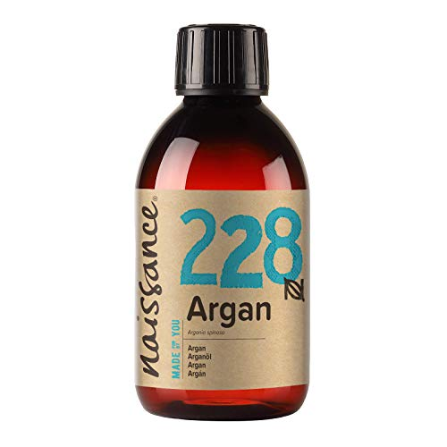 Naissance Moroccan Argan Oil (no. 228) 250ml - Pure & Natural, Anti-Ageing, Antioxidant, Vegan, Hexane Free, No GMO