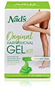 Nad's Natural Hair Removal Gel Kit, 6 Ounce by NAD'S