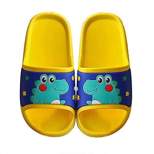 Pantofole Bambini Cartone Animato Carino Casa Scarpe Doccia Sandali Scarpe da Spiaggia e Piscina Ciabatte da Doccia Antiscivolo Sandali a Punta Aperta Unisex