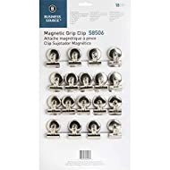 Business Source Magnetic Grip Clips Pack