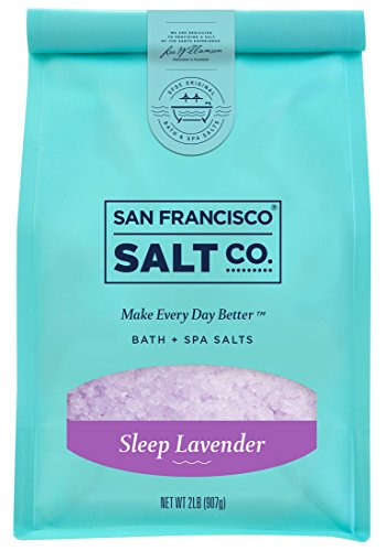 Sleep Lavender Bath Salts - 2 lb. Luxury Gift Bag by San Francisco...