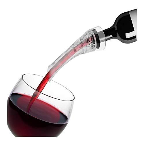JYSLI Facile Decanter Accessori Vino Filtro Portable Pourer Strumenti Bar del Vino Rosso energia (Color : White)