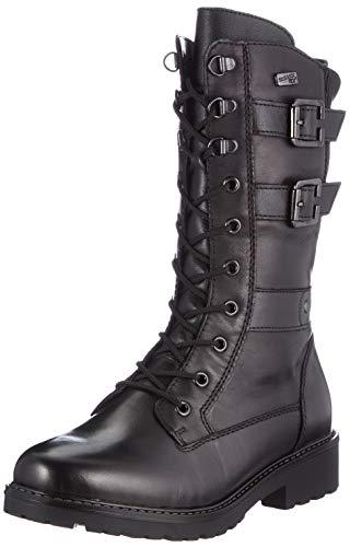 Remonte Damen R6586 Halblange Stiefel, schwarz/schwarz/schwarz / 01, 36 EU