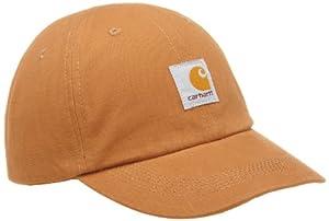 Carhartt Baby Girls' Signature Canvas Cap, Brown, Child