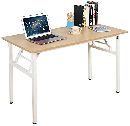 SogesHome Mesa plegable para computadora de 120 x 60 x 75 cm...