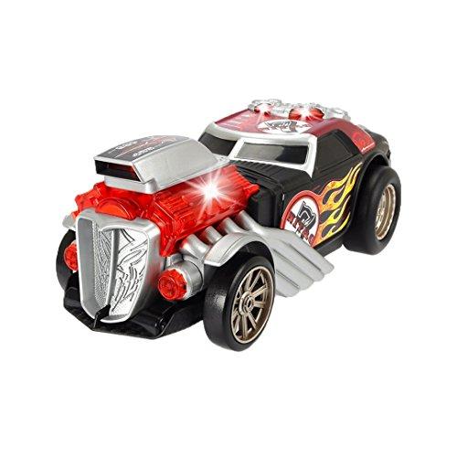 Dickie Toys 203765000 - Daredevil, motorisiertes Rennauto mit Wheeliefunktion, mit Licht- und Soundfunktion, 24cm