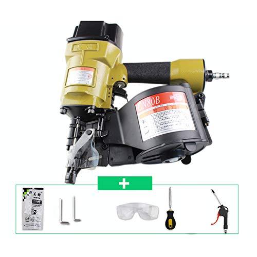 Xb Set Grapadora de Aire comprimido Manual Clavadora para Acabados neumática Acabado...