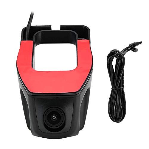 Grabadora de Video para automóvil, Grabadora de Video para conducción DVR para automóvil USB Cámara de Tablero GPS HD 1080P para Android