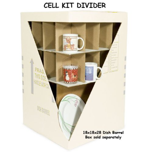 EcoBox Cell Kit Divider for 18 x 18 x 28 Inches EcoBox Dish Barrel Box (E290)