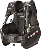 Cressi Sub S.p.A. Solid Dive Center Edition Gilet stabilisateur Mixte Adulte, Noir, XS