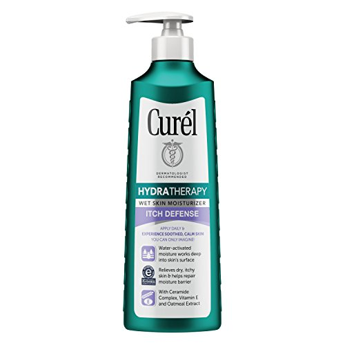 Curél Hydra Therapy, Itch Defense Moisturizer, Wet Skin Lotion, 12 Ounce, with Advanced Ceramide...