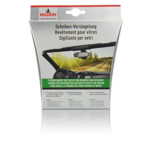 NIGRIN 73905 Scheibenversiegelungs-Set Reinigungs-Paste: 25 g; getränktes Tuch: 10 ml