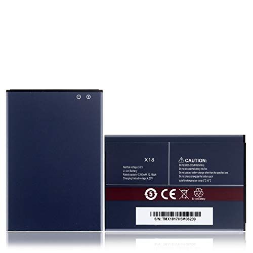 West Dragon for Cubot x18 Backup-Batterie, 3.200 mAh
